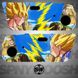DBZ Split Door Card Vinyl Design