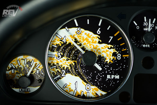 Miata Gauges - Gold Wave