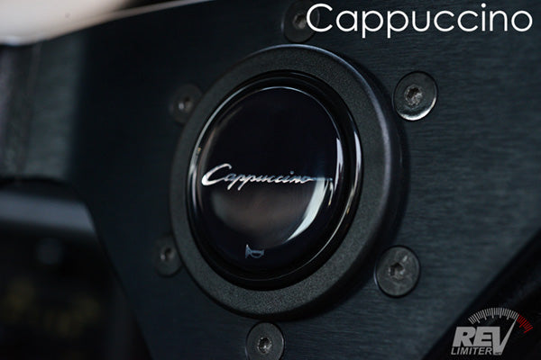 Cappuccino - Horn Button