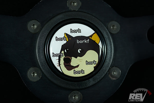 BorkBorkBorkDOGE - Horn Button
