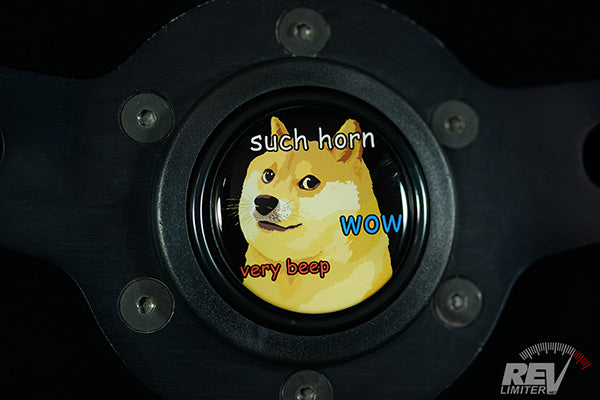 Wow DOGE - Horn Button