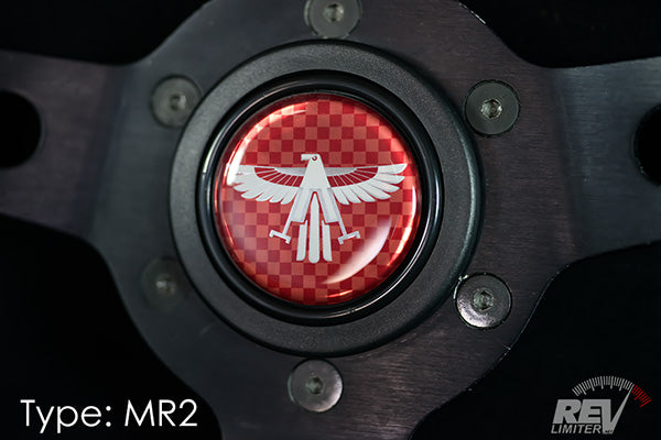 MR2 Logo - Horn Button