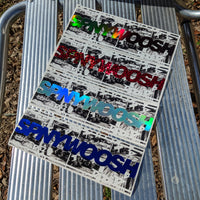 Initial D SPNYWOOSH Slap Sticker