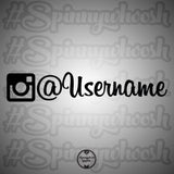 Instagram Vinyl Decal