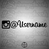 Instagram Vinyl Decal - Old Icon