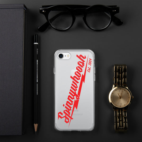 Spinnywhoosh Millie iPhone Case