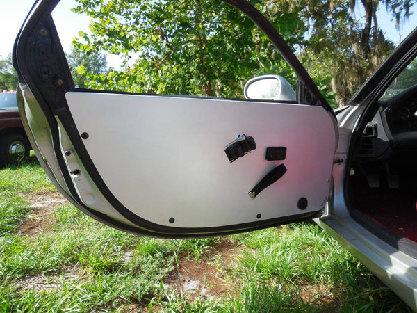 FD RX7 Full Aluminum Door Panels