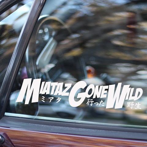 MiatazGoneWild Decal