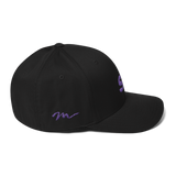 Spinnywhoosh Fitted Cap - Purple