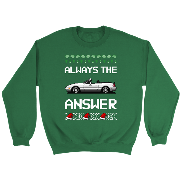 Miata Ugly Sweater 2019 - Green