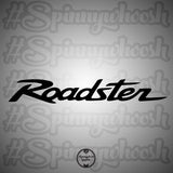 New Version Roadster Logo Decal