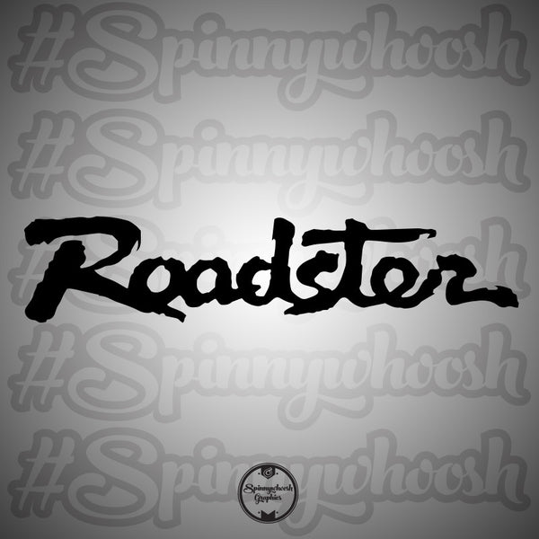Roadster Logo Decal