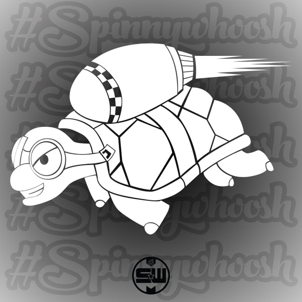 Spinnywhoosh Rocket Turtle