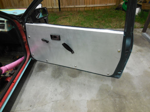 AE86 Aluminum Door Panels