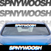 Printed Spinnywhoosh Glitch Banner
