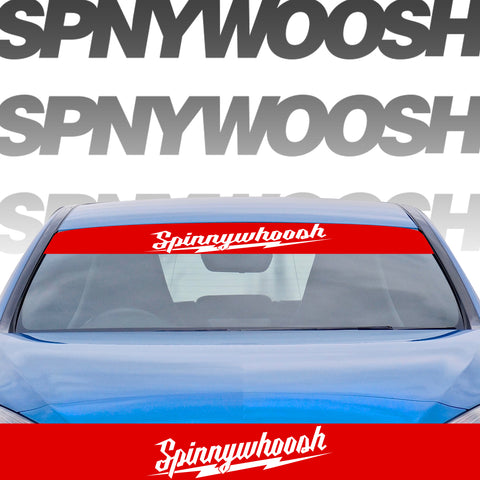 Spinnywhoosh Millie Banner