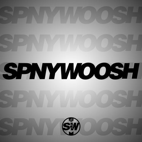 SPNYWOOSH Vinyl Decal