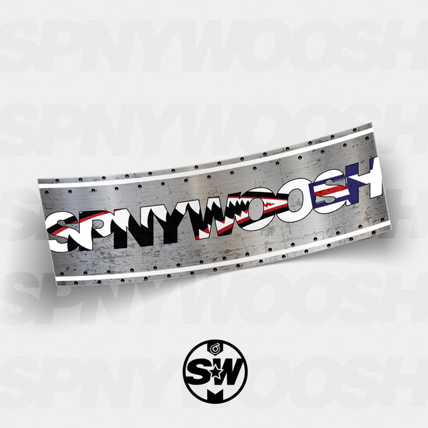Battle Ready SPNYWOOSH Slap Sticker