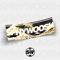 Gold Wave SPNYWOOSH Slap Sticker