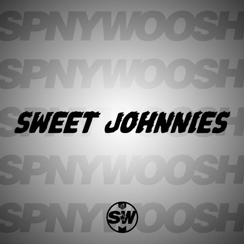 Sweet Johnnies Horizontal Car Decal