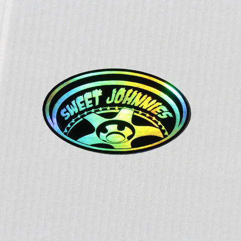 Sweet Johnnies Holographic Sticker