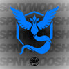 Team Mystic Pokemon Go Decal