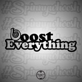Boost Everything Decal