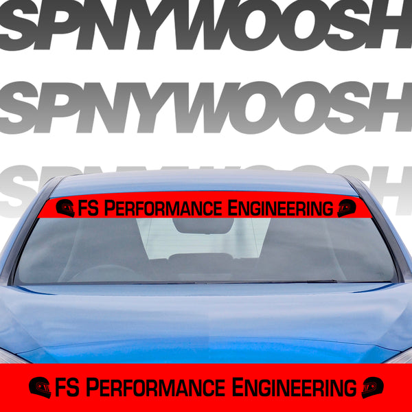 FS Performance Engineering Decals