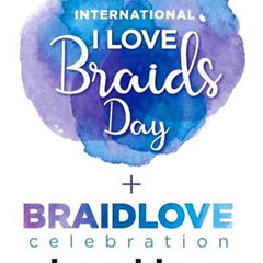 Internation I love braids day Logo