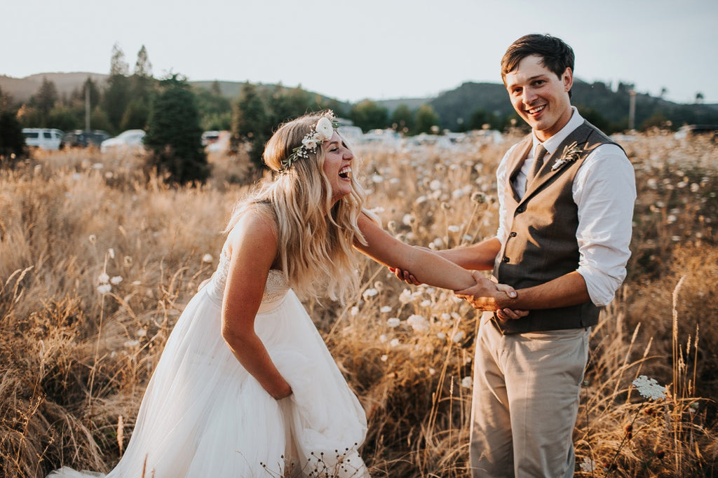 Vintage Vibes Wedding at Adeline Farms in Woodland, WA // Flower Friends