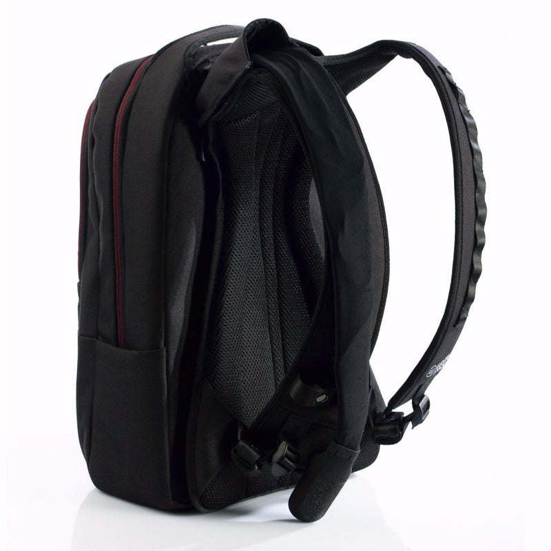 Wolffepack Metro, Award-Winning Backpack, 22L Black and Red