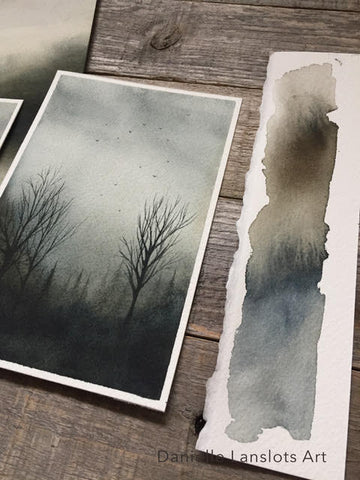 Danielle Lanslots - Watercolor Paintings