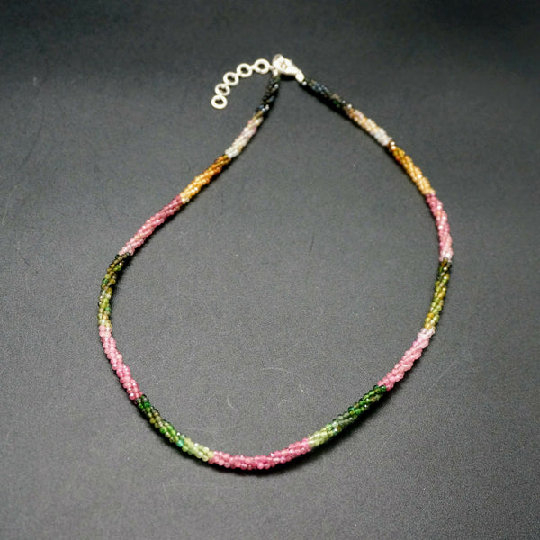 Twisted Tourmaline Necklace