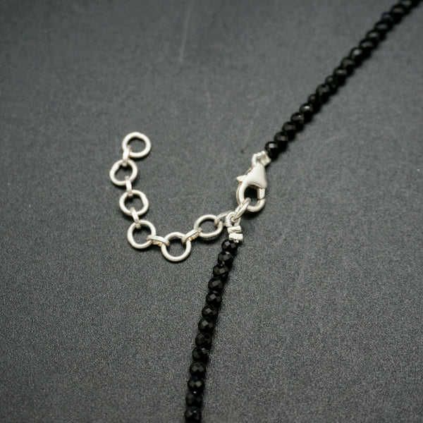 Twisted Spinel Necklace - 16 inches