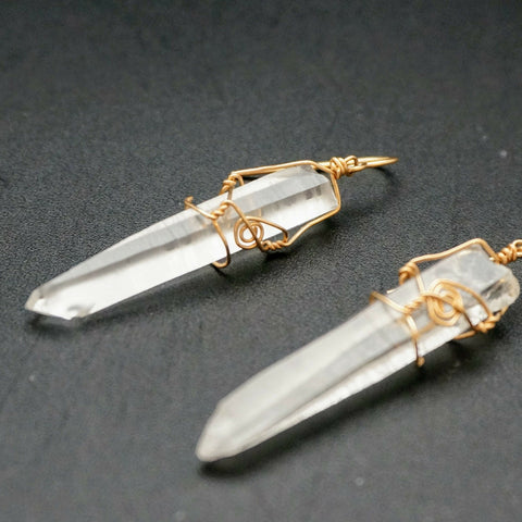 Lumerian Crystal Earrings
