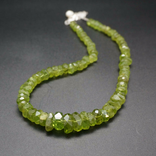 Peridot Wonder Necklace - 18 inches