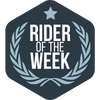 Rider of the Week FUSAR patch