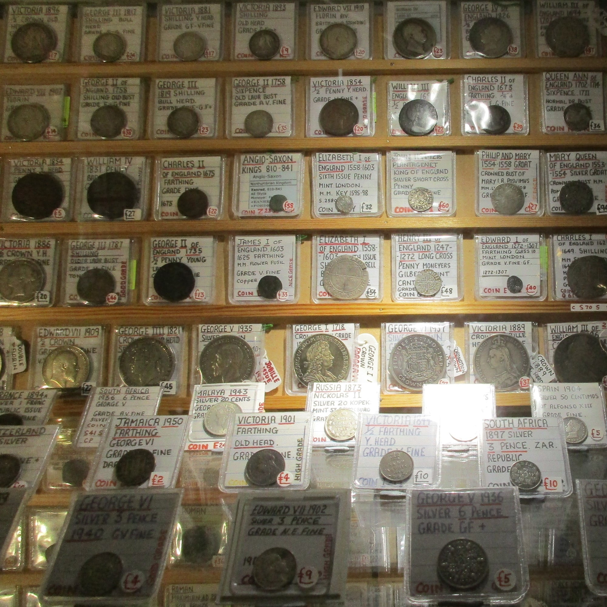 Dealer Of The Day: Numerous Gems For The Numismatic.