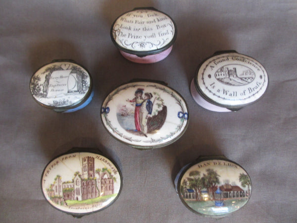 Love Tokens, Souvenirs and Scars The Enamel Box