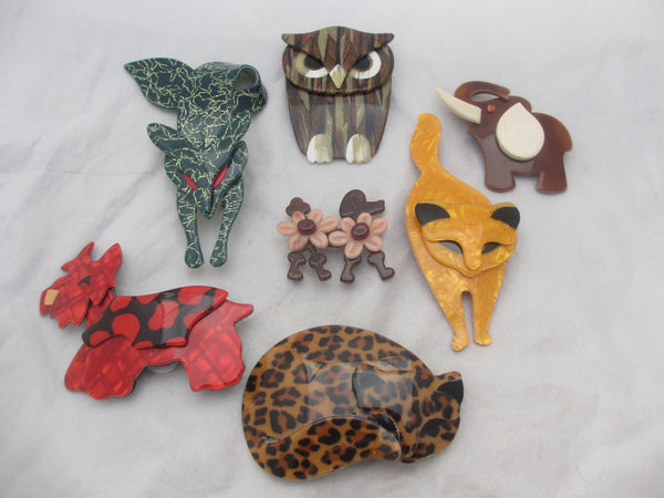 Start your own Managerie Lea Stein Brooches