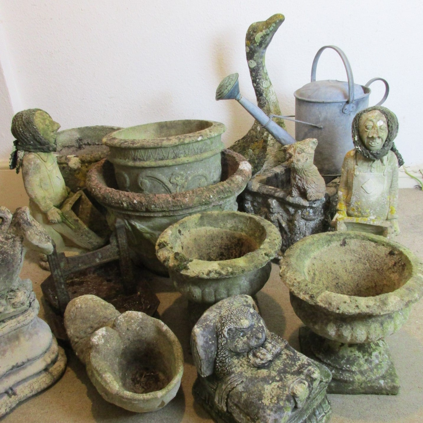 Spring into buying antique and vintage garden stuff click & collect