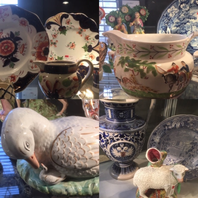Dealer Of The Day: Romantic Georgian Ceramics.