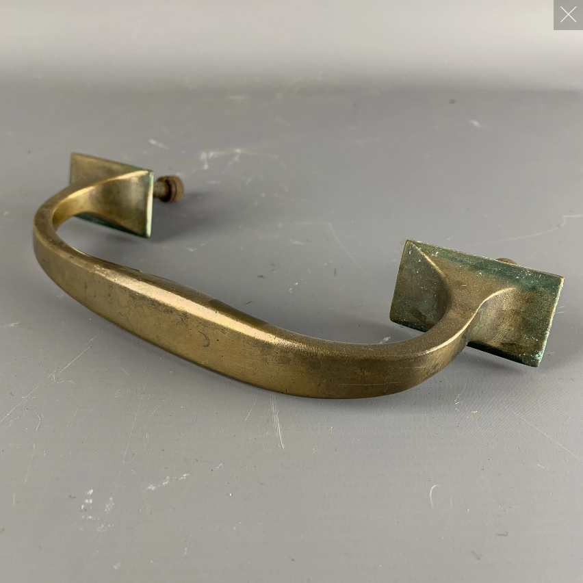 Bronze Door Handle with Screw at the Back - Has No Cheeps