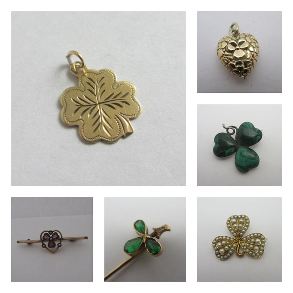 Find a Lucky Charm At Top Banana Antiques On St Patricks Day !