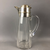 Sterling-Silver-Top-Glass-Claret-Wine-Jug-French-Antique-Art-Nouveau-c1905