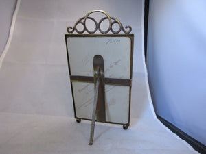 Brass Easel Photo Frame Antique c.1880.