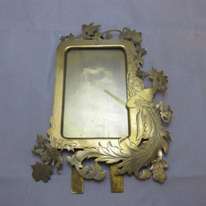 Brass Photo Frame Victorian Antique c1880