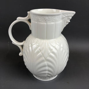 Coalport Bone China Caughley Mask Head Jug Vintage c1980