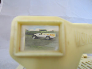 English Plastic Ivory Coloured Weetabix Stereoscopic Viewer c1960.