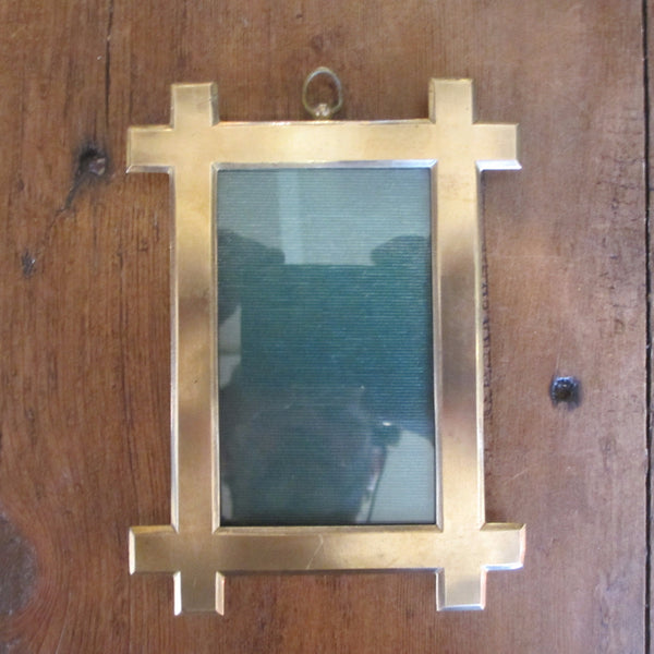 Arts & Crafts Brass Photograph Frame circa 1900